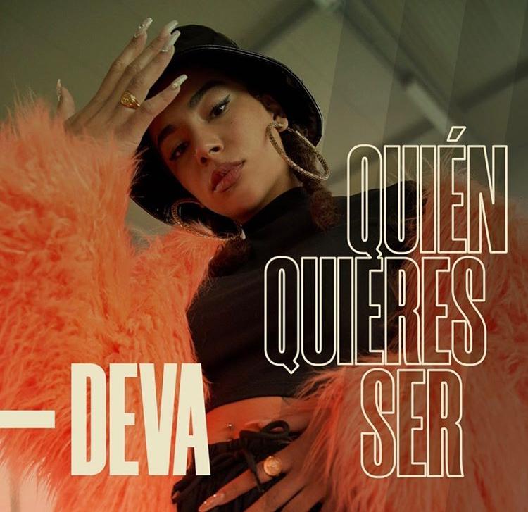 """Portada del sencillo """"Quién quieres ser"""" de Deva. Vía Instagram: @divadeva"""