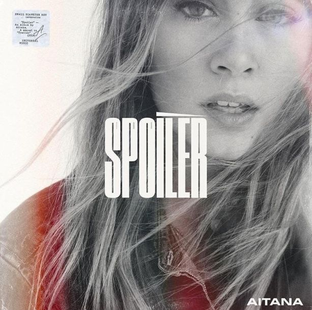 Avance de la portada del EP 'Spoiler' de Aitana Ocaña. Vía Instagram: @aitanax